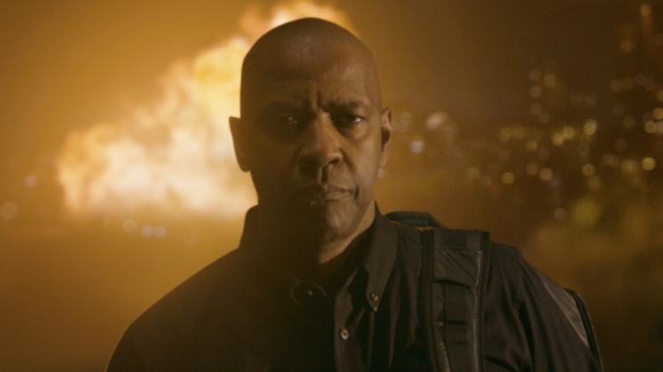 You may think you're cool. But you're not Denzel Washington walking inexplicably away from an explosion.