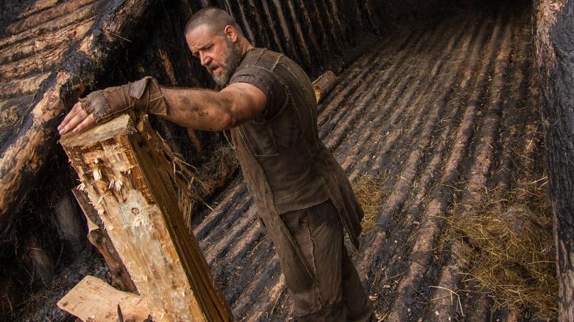 Russell Crowe as Noah.