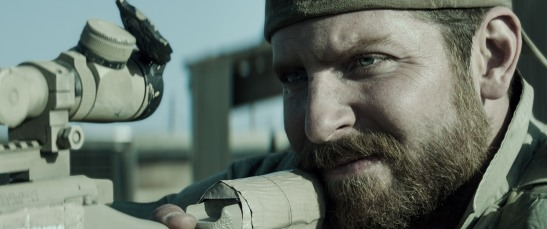 Bradley Cooper on top form in this contemporary war film.
