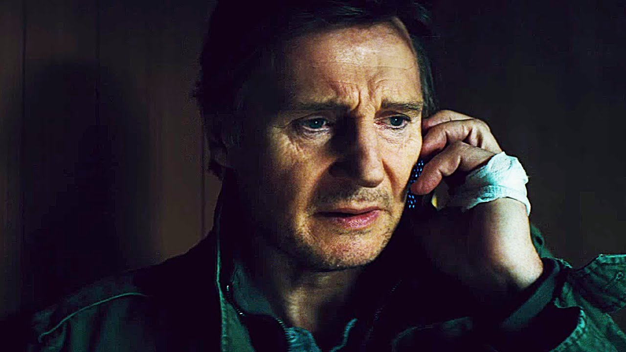 Liam Neeson should really spend more time talking to people face to face in his movies.