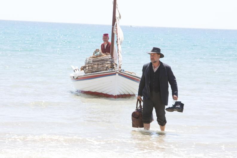 "Russell Crowe in his directional debut, ""The Water Diviner""."