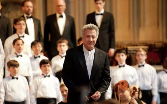 Dustin Hoffman would make me want to join my school's boychoir!!