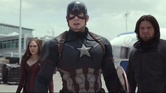 Cap Bucky and the Witch